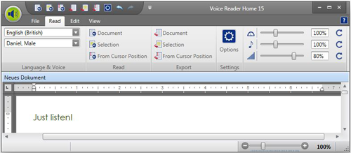 linguatec voice reader home