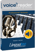 Linguatec Sprachtechnologien Voice Reader Studio 15 180px