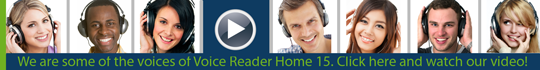 Videos Voice Reader Home 15 - englische Version