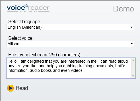 voice reader home 15 free download