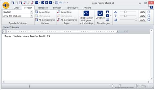Demo Voice Reader Studio 15