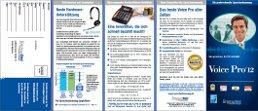 Produktbroschüre Voice Pro 12