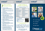 Produktbroschüre Voice Reader Home 15