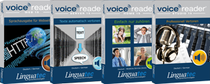 Shop Text-to-Speech Voice Reader Home 15, Studio 15, Server 15 und Web 15