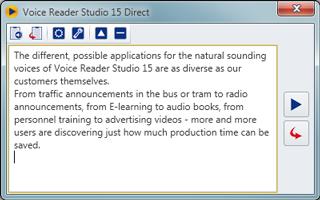 Voice Reader Studio 15 - Linguatec