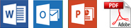 Dateiformate, die in Personal Translator geöffnet werden können