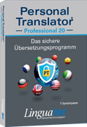 Personal Translator Professional 20